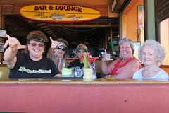 Betty, Mom & friends at the King Kamehameha Day Parade (BarryFackler) Tags: mom pennyspangler pennyfackler bettyfackler bettybowen betty kailuakona northkona kona westhawaii hawaii hawaiiisland hawaiicounty sandwichislands bigisland people hawaiianislands 2019 family polynesia thefishhopper restaurant kingkamehmehadayparade kingkamehamehaday holiday celebration event parade barryfackler barronfackler aliidrive