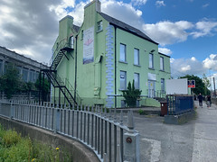 ONGOING DEVELOPMENT AND RENEWAL AT BROADSTONE [NEAR THE LUAS TRAM STOP]-152978 (infomatique) Tags: red broadstone luas tramstop publictransport streetphotography streetsofdublin williammurphy infomatique fotonique apple iphone xr areasofdublin urbanrenewal