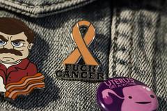 Fuck it (thepantsqueen) Tags: fuckcancer leukemia pins