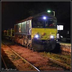 66431 - Poppleton (Mark's Train pictures) Tags: 66431 dbschenker dbcargo dbcargouk dbs harrogateloop harrogatecircle harrogateline class66 class66shed