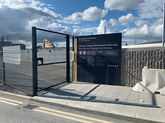 ONGOING DEVELOPMENT AND RENEWAL AT BROADSTONE [NEAR THE LUAS TRAM STOP]-152949 (infomatique) Tags: red broadstone luas tramstop publictransport streetphotography streetsofdublin williammurphy infomatique fotonique apple iphone xr areasofdublin urbanrenewal