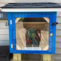 Little Free Library @ Coffee Mania in Homer NY (PhotonPirate) Tags: