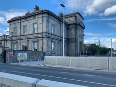 ONGOING DEVELOPMENT AND RENEWAL AT BROADSTONE [NEAR THE LUAS TRAM STOP]-152961 (infomatique) Tags: red broadstone luas tramstop publictransport streetphotography streetsofdublin williammurphy infomatique fotonique apple iphone xr areasofdublin urbanrenewal