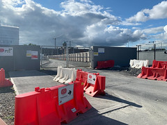 ONGOING DEVELOPMENT AND RENEWAL AT BROADSTONE [NEAR THE LUAS TRAM STOP]-152952 (infomatique) Tags: red broadstone luas tramstop publictransport streetphotography streetsofdublin williammurphy infomatique fotonique apple iphone xr areasofdublin urbanrenewal