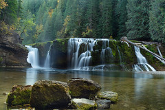 Waterfall Love (gwendolyn.allsop) Tags: waterfall washington gifford pinchot lower lewis fall autumn outdoors river