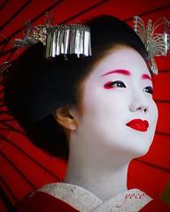 勝奈 Katuna (goldragon96) Tags: 勝奈 舞妓 京都