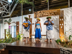 Tahiti, French Polynesia - Welcoming music