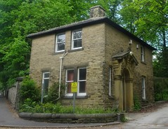 [75969] Ranmoor : Tapton Court Lodge (Budby) Tags: sheffield southyorkshire ranmoor victorian lodge gatehouse