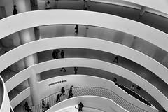 The Guggenheim (Chris Agar) Tags: newyork usa guggenheim blackandwhite bw gallery