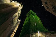 Green dreams (jcc90) Tags: caceres night nikon amateur magic old city lights sky