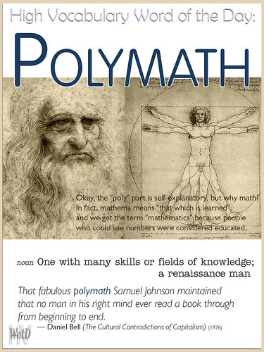 Polymath — High Vocabulary Word of the Day