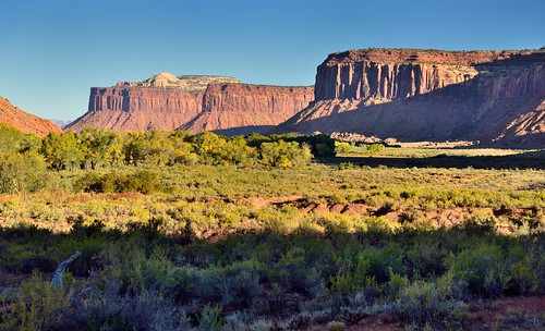 Light and Shadows Across the Indian Creek Corridor (Bears Ears National Monument)