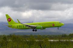 VQ-BMG S7 - Siberia Airlines Boeing 737-8LP(WL) (Zhuravlev Nikita) Tags: spotting elizovo kamchatka uhpp pkc boeing 737 b738 s7