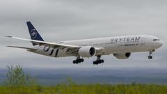 VQ-BQG Aeroflot - Russian Airlines Boeing 777-3M0(ER) (Zhuravlev Nikita) Tags: spotting elizovo kamchatka uhpp pkc boeing 777 b777 aeroflot