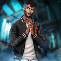Charlie - Client Photo (ButterCup Arcana) Tags: second life art lust male photoshop photography urban rustic