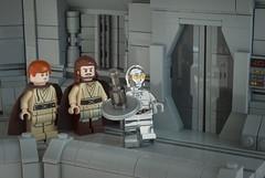 """""""The ambassadors are Jedi Knights, I believe."""" (Ben Cossy) Tags: lego moc afol tfol star wars obiwan kenobi tc14 qui gon jinn the phantom menace"""