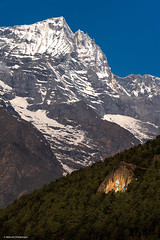 The Pious Peaks (Neha & Chittaranjan Desai) Tags: everest base camp trek trekking namche bazar nepal himalayas mountains spirituality buddhism paintings nature travel landscapes
