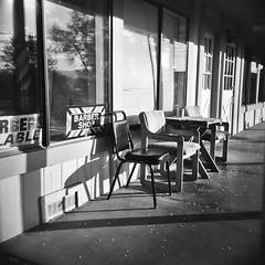 Gardnerville, Nevada. No waiting. (Timothy Lewis Jr.) Tags: holga trixpushed2x orangefilter analoguefilm analogue blackandwhite blackandwhitefilm bw holgaphotos holga120n kodaktrix trix120