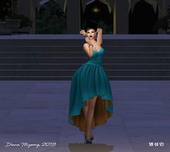 Serendipity (Diana Myeong) Tags: secondlife fashion eveningwear gown straplessgown outdoors jalmahal laq maitreya rezology anefashion ikon ysoral bootysbeauty indian