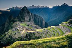 First light (Sony J Thomas) Tags: travel machupicchu peru light inca ruins