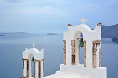 Oia  - Santorini (Giuliana 57) Tags: oia santorini grecia maregeo isola campane mare sea iole giulianacastellengo giuliana57 reflex nikond5200 vacanza bianco blu