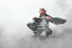 LEGO Storm (weeLEGOman) Tags: lego storm xmen minifigure lightning toy macro photography uk nikon d7100 105mm marvel comics comic robert rob trevissmith weelegoman