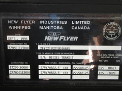 ex-Golden Retriever Build Plate (TheTransitCamera) Tags: newflyerindustries d30lf goldenretriever senior shuttle bus
