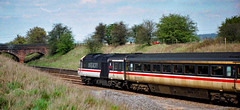 Intercity 125 (Peter Leigh50) Tags: hst high speed train theageofthetrain british rail railway railroad rural great bowden