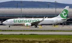 Transavia France F-HTVJ, OSL ENGM Gardermoen (Inger Bjørndal Foss) Tags: fhtvj transavia boeing 737 osl engm gardermoen