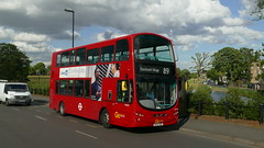 Village Terminator (londonbusexplorer) Tags: goahead london volvo b9tl wrightbus gemini 2 wvn48 vn37946 bl61adu 89 lewisham station blackheath village slade green tfl buses