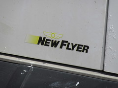New Flyer Logo (TheTransitCamera) Tags: newflyerindustries d30lf goldenretriever senior shuttle bus