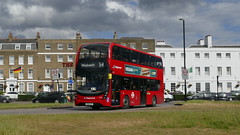 New Order (londonbusexplorer) Tags: stagecoach london adl enviro 400 mmc 11331 yw68ozv 54 woolwich elmers end tfl buses