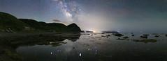 3331 (Keiichi T) Tags: 6d canon eos 日本 japan 夜景 空 天の川 milkyway sea 海 mountain night 山 shadow 光 影 水 リフレクション 建物 星 star architecture reflection 夜空 water light sky 夜