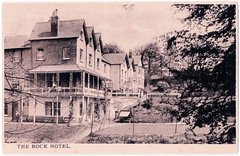 Llandrindod Wells - The Rock Park Hotel That is no More. (pepandtim) Tags: postcard old early nostalgia nostalgic llandrindod wells rock park hotel burrow publishers artists printers cheltenham boarding house attics spa water derelict 2000 demolished 29lla32