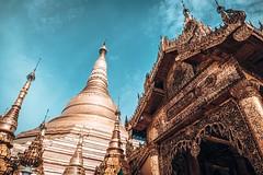 Shwedagon Pagoda in Yangon Myanmar (2)