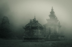Gedong Songo (turkevych) Tags: haze bandungan gedongsongo fog indonesia java buddhisttemple