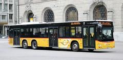 Swiss Post Auto 10174 SG 169914 at St Gallen Station Interchange. (Gobbiner) Tags: manlionscity 10174 stgallen sg169914 swisspostauto switzerland
