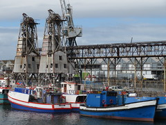 Fishing Vessels (Toni Kaarttinen) Tags: southafrica africa cape capetown travel travelling holiday wanderlust westerncape waterfront harbor harbour boat ship crane