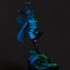 Moon Fairy (davidcolwell725) Tags: graphigaut miniatures miniaturepainting paintingminiatures painting light vr virtualreality cyberpunk halflife3