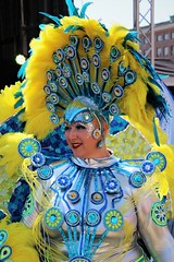 6Q3A9810 (www.ilkkajukarainen.fi) Tags: helsinki samba carnaval 2019 visit travel travelling happy life line suomi finland finlande eu europa scandinavia feather sulka portrait potretti smile hymy costum puku fantsia fantasy