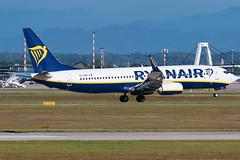 Ryanair Boeing 737-800 EI-FRH | Milano - Malpensa (MXP-LIMC) | 31st May 2019 (Brando Magnani) Tags: