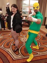 Zatanna and Iron Fist (dcnerd) Tags: allstarcomiccon allstarcomicconvirginia allstarcon allstarcomicconcosplay allstarcomiccon2019 cosplay cosplaycomiccon cosplaywomen comicconcosplay zatanna cosplayzatanna ironfist cosplayironfist