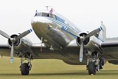 Finnair DC-3 OH-LCH (Craig S Martin) Tags: aviation aircraft airplane airshow warbird piston wwii dday finnair douglas dc3 ohlch