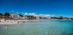 Mallorca- Peguera - Strand - Panorama - 0087 (Peter Goll thx for +12.000.000 views) Tags: mediterran d850 nikon bay peguera medi mittelmeer beach spain sea stand urlaub mallorca island balearen insel nikkor 2019 spanien bucht balearischeinseln 1424mm