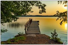 Untitled 00.85 (ViTaRu) Tags: fujifilm fuji x100 pier lake water sunset evening summer colors peaceful serene serenity trees mood calm orange green littoistenjärvi littoinen varsinaissuomi finland