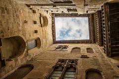 Medieval architecture (Jean-Luc Peluchon) Tags: fz1000 architecture histoire history maison house town city building ciel sky pov périgord france batiment old