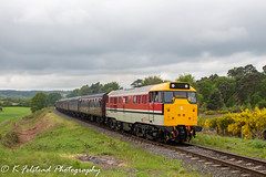 97205 Bewdley Tunnel (Erlestoke7812) Tags: diesel locomotive train railway heritagetraction preservation vintage severnvalley severnvalleyrailway dieselgala spring dieselfestival may 2019 uk ukrailscene ukrailways chinnorandprincessrisboroughrailway class31 railresearch chinnor canon 700d bewdley mk1