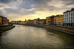 Quai de l'Arno - Pise (Oliver 6455) Tags: italie toscane