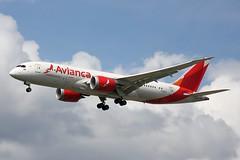 N793AV - LHR (B747GAL) Tags: avianca boeing b7878 dreamliner lhr heathrow egll n793av