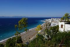 Rhodos beach (DirkVandeVelde back , and catching up) Tags: europa europ europe greece griekenland rhodos rodos buiten beach strand zee meer plage sea